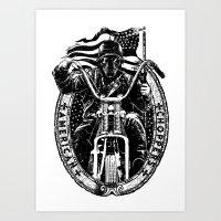 American Choppers Art Print