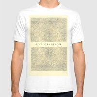 joy division Mens Fitted Tee White SMALL
