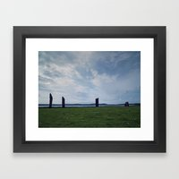 The Stones of Stennes Framed Art Print