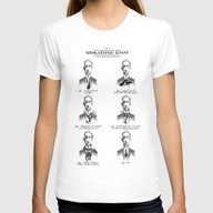 The Illustrated Guide To… Womens Fitted Tee White MEDIUM