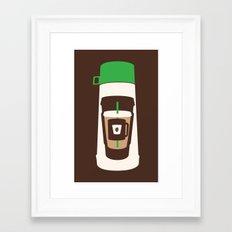 The Coffee Stacker Framed Art Print