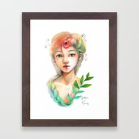 Goddess of  Spring Framed Art Print