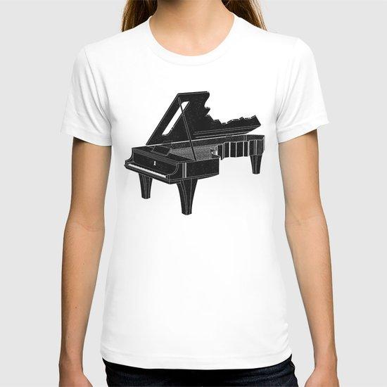 Music Is The Key B T-shirt