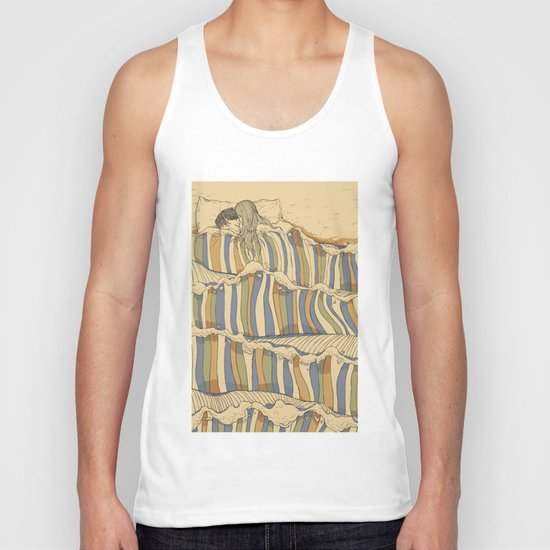 Ocean of love Unisex Tank Top