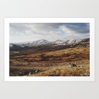 Mosquito Pass Rocky Mountains Art Print