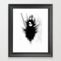 Becoming You. I'm Not Af… Framed Art Print
