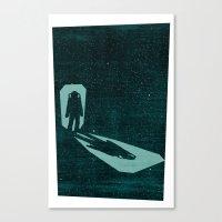 A Door Through Space Canvas Print