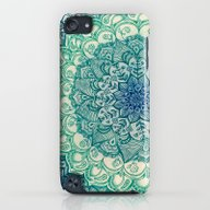 Emerald Doodle iPod touch Slim Case