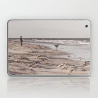 There's A Man On The Sho… Laptop & iPad Skin