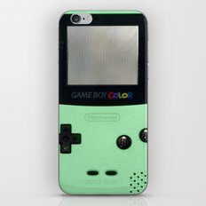 Gameboy Color: Mint iPhone & iPod Skin