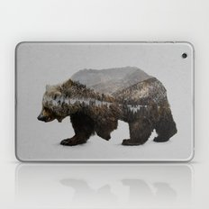 The Kodiak Brown Bear Laptop & iPad Skin