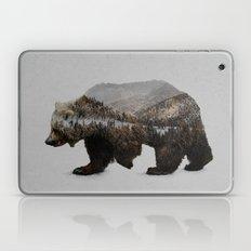The Kodiak Brown Bear Laptop & iPad Skin