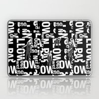 TYPE MAN Laptop & iPad Skin