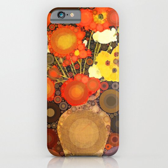 Gramma's Flowers iPhone & iPod Case