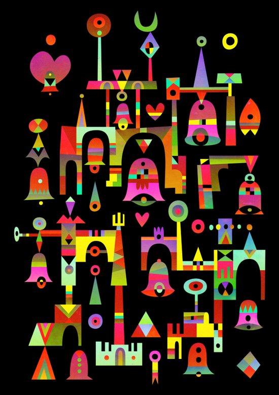 Harmony Chime Canvas Print