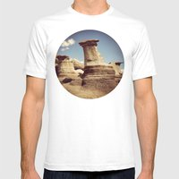 Hoodoos Mens Fitted Tee White SMALL