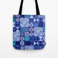 Mosaic Tile Tote Bag