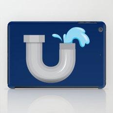 Alphabet U iPad Case