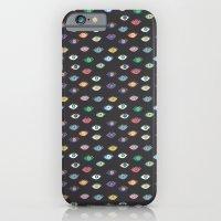 Eyez (Black) iPhone 6 Slim Case