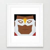 Falcon Framed Art Print