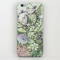 Flowerbed iPhone & iPod Skin