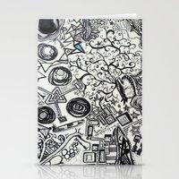 Black/White #2 Stationery Cards