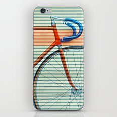 Standard Striped Bike iPhone & iPod Skin