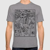 ¿qué Ves? Mens Fitted Tee Athletic Grey SMALL