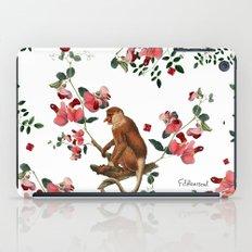 Monkey World: Nosy - White iPad Case