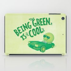 Being Green is Cool iPad Case