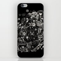 Spark-Eyed Oblivion Cascade Blues iPhone & iPod Skin