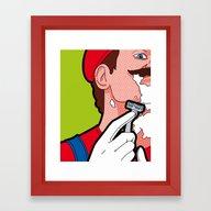 Framed Art Print featuring The Secret Life Of Heroe… by Greg-guillemin