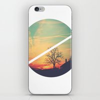 Colored Sky iPhone & iPod Skin