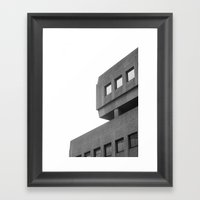 Passing By Brussels Framed Art Print