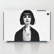 iPad Case featuring Mrs Mia Wallace by Ruben Ireland