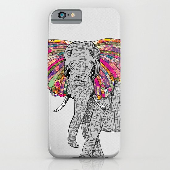 Bella The Happy Butterphant iPhone & iPod Case