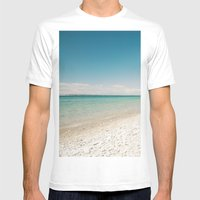 Seaside Manitou Island Mens Fitted Tee White SMALL