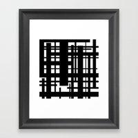 Bridges Inverse Framed Art Print