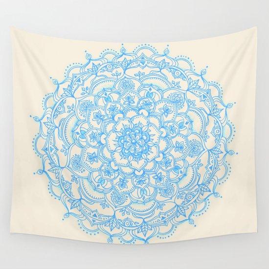 light blue lace mandala - photo #3