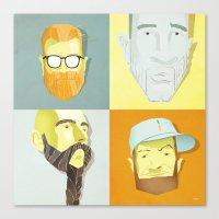 Beard by Beard Canvas Print