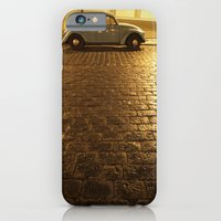 vw iPhone & iPod Cases featuring VW Beetle by Maria Heyens