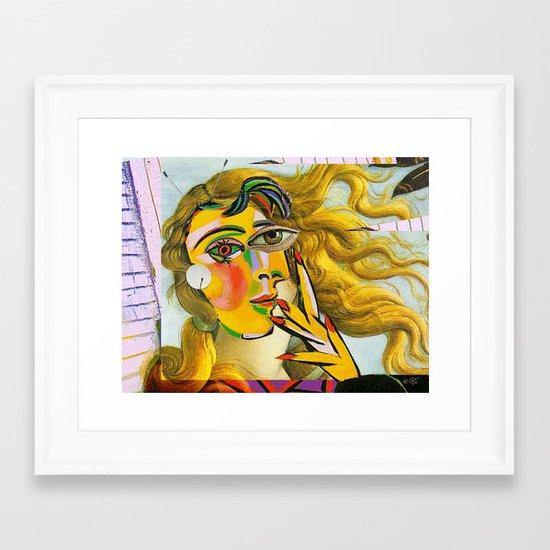 Dora Venus Maar 2 Framed Art Print