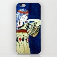 Indian Girl iPhone & iPod Skin