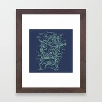 Chateau Ambulant Framed Art Print