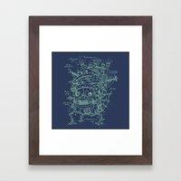 Chateau Ambulant Framed Art Print