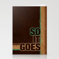 So It Goes.... Stationery Cards