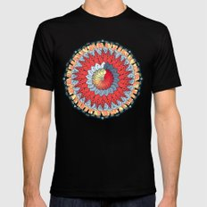 Auspicious Mens Fitted Tee Black SMALL