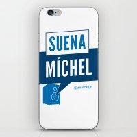 SUENA MÍCHEL iPhone & iPod Skin