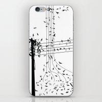 Morning song birds iPhone & iPod Skin