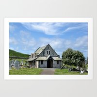 Great Orme Cemetery Art Print
